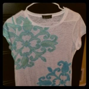 INC International Concepts Sequence Tee Shirt